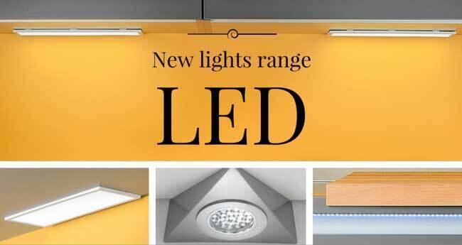 LED lights by Emuca
