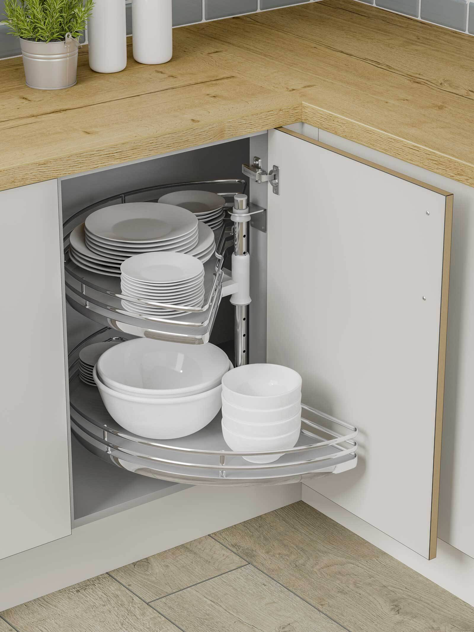 Individual Half Circle Kitchen Carousel