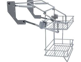 Pull Down Wire Shelf