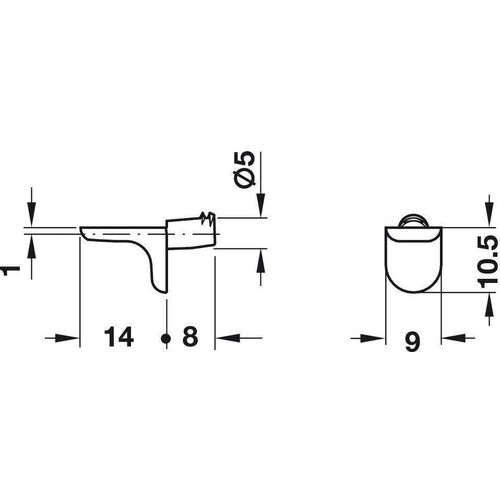 1709-001-wooden-shelf-support-5-mm-pack-of-100