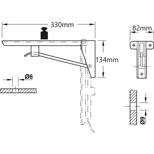 1907-001-heavy-duty-folding-bracket-for-bench-and-tables