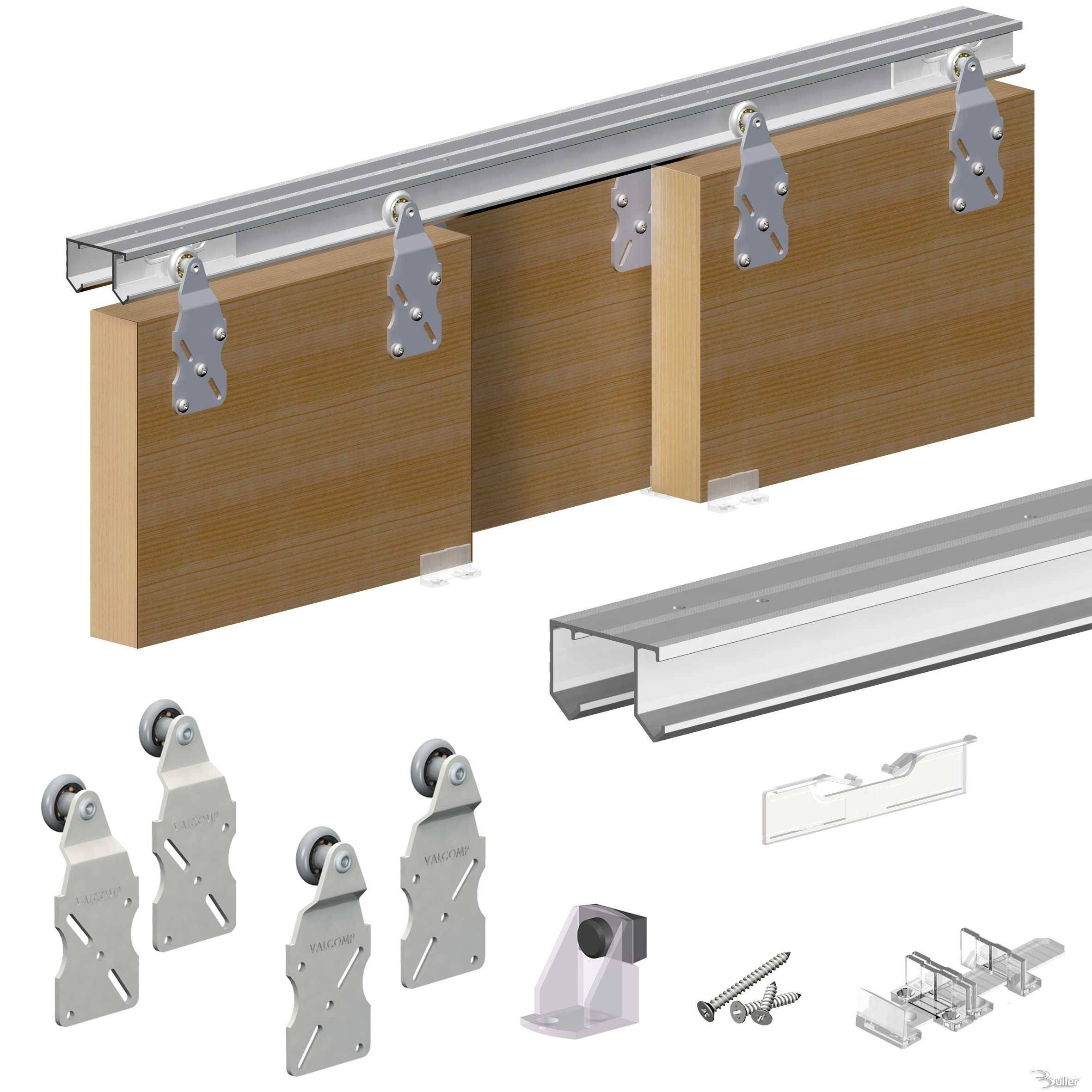Horus Top Hung Sliding Door System Wardrobe Track Kit : HorusaccessoriesMain New ideacyst rs from www.bullerltd.co.uk size 2362 x 2362 jpeg 375kB