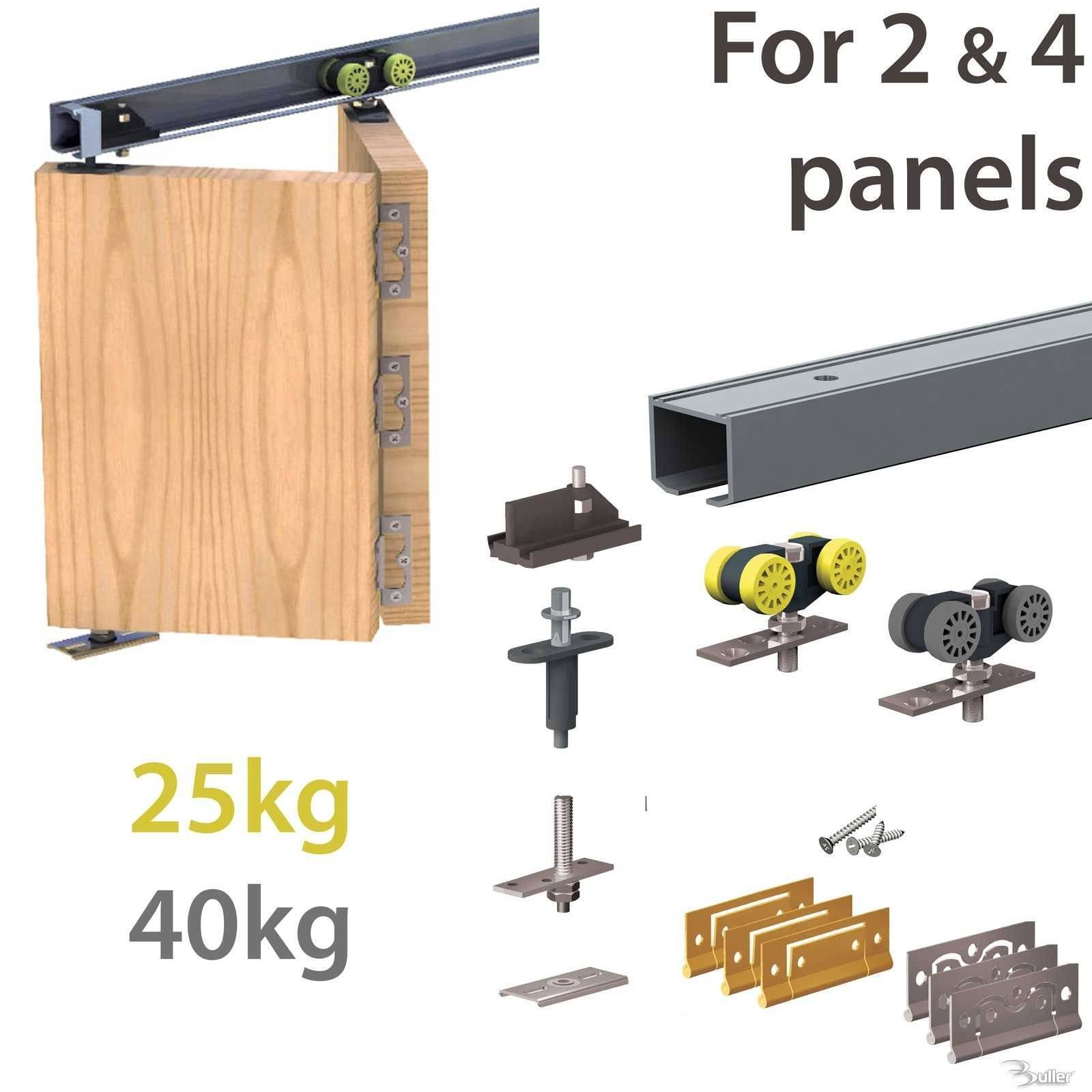 Hercules Plus Bi Folding Door System Track Set