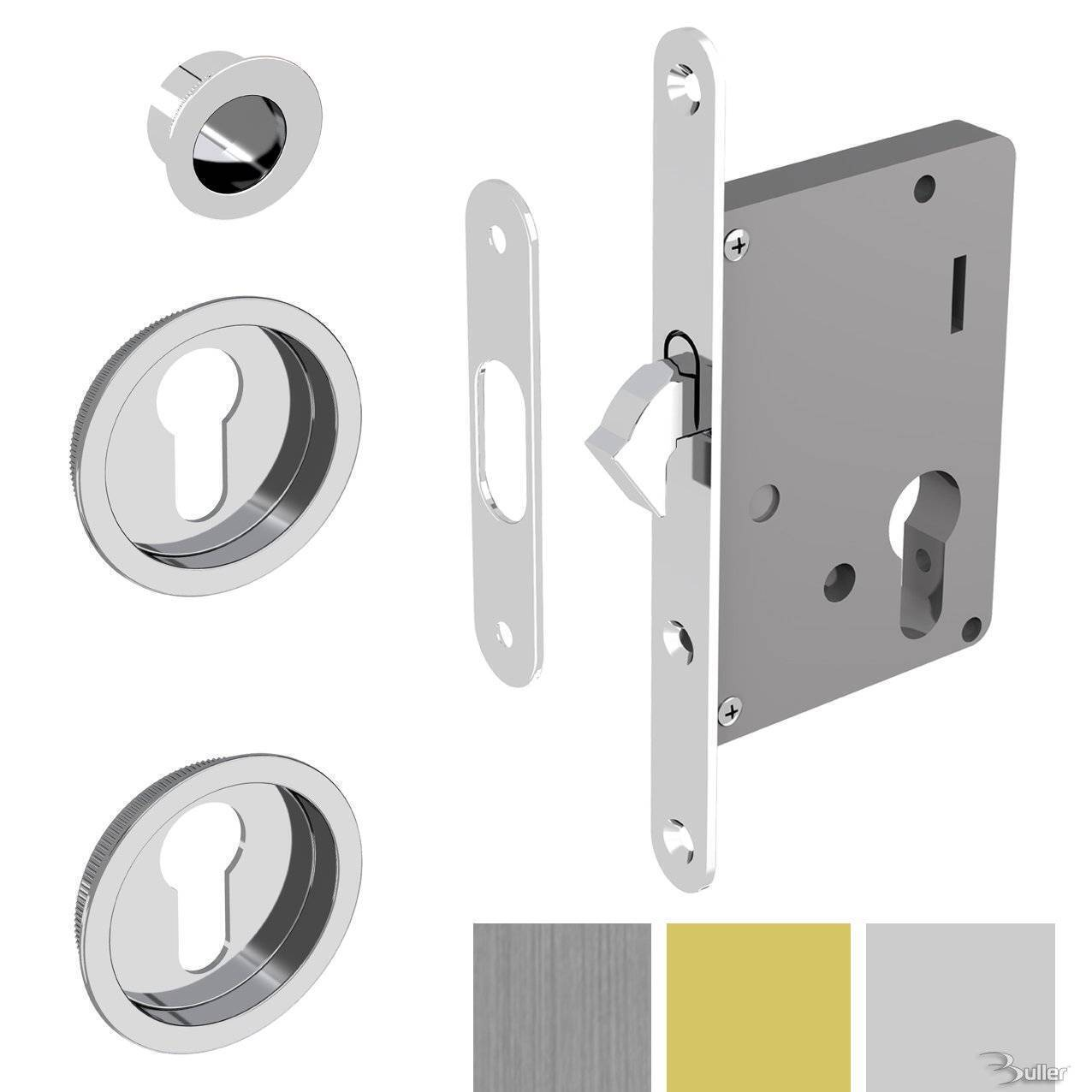 Sliding Door Mortice Lock For Eurolock