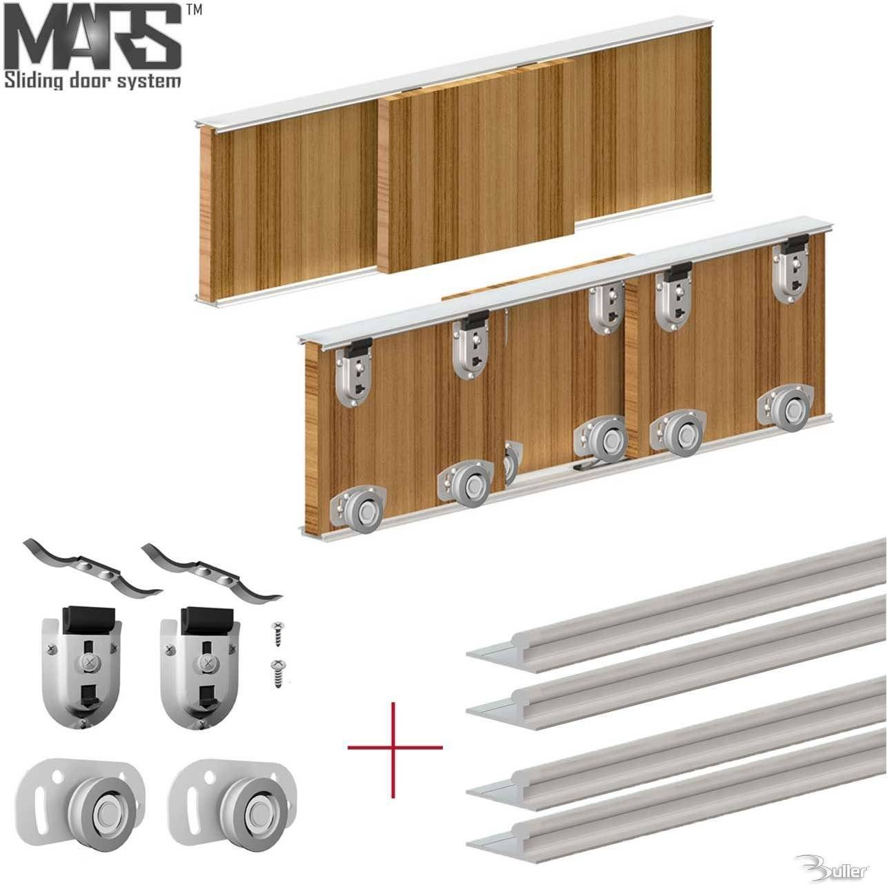 Mars Premium Wardrobe Sliding Door Diy Kit System