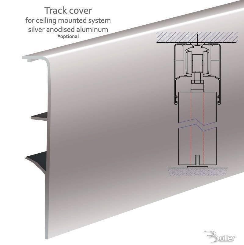 Atena Soft Close Sliding Door Gear Track Kit