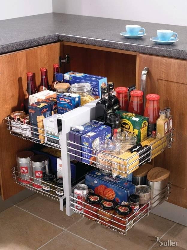 Blind corner optimiser for Kitchen cabinets 800mm